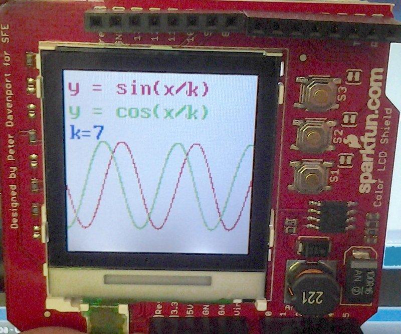 OSEPP LCD and keypad shield - Arduino Project Hub